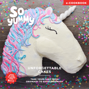 So Yummy Unforgettable Cakes - eCookbook