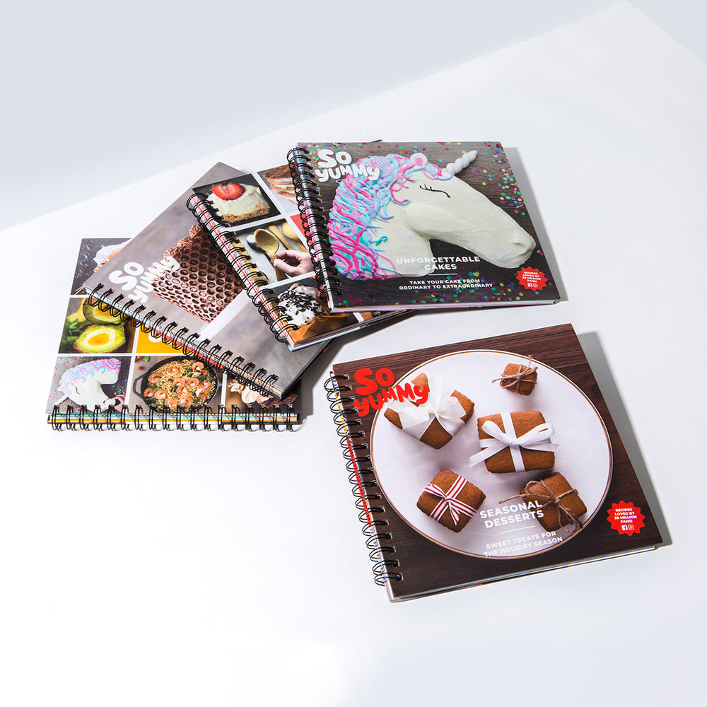 So Yummy Ultimate Cookbook Collection, Set of 5