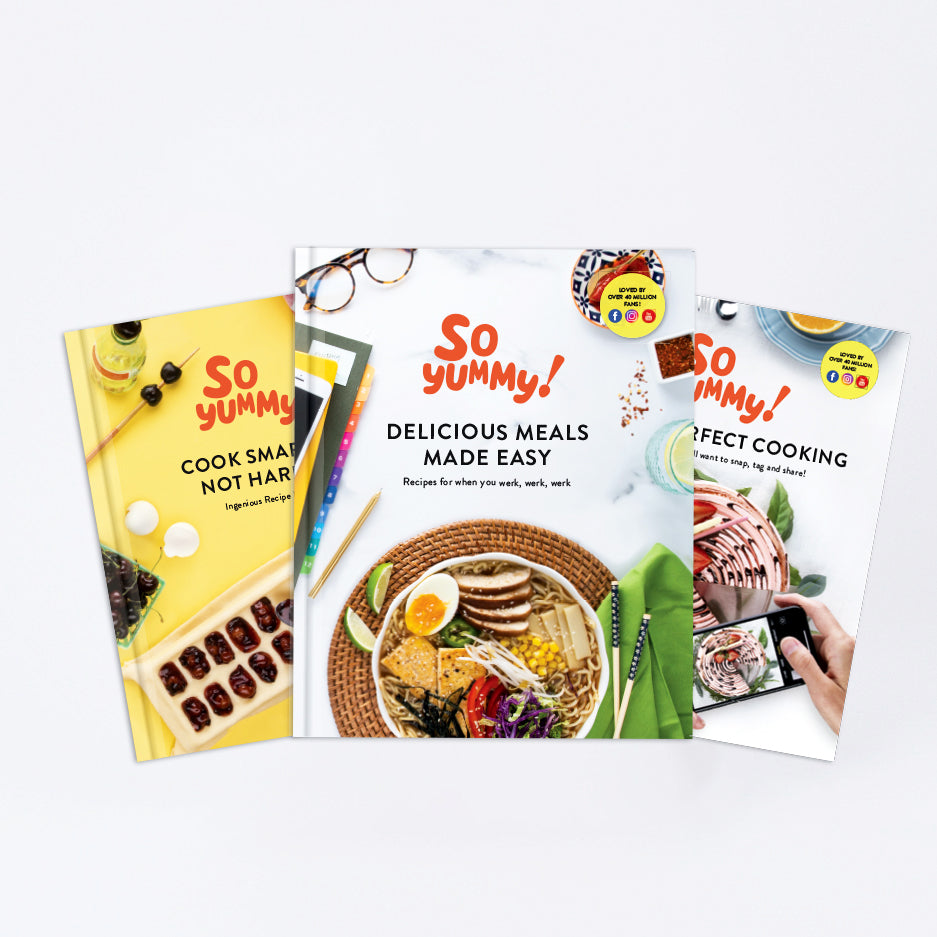 Build Your Own Cookbook Bundle, Set of 3