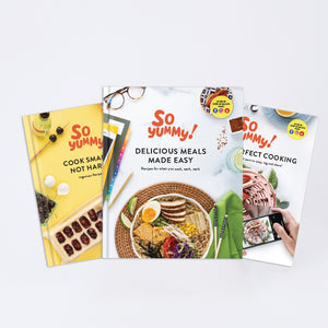 Cook Smarter, Delicious Meals & Picture Perfect, Set of 3
