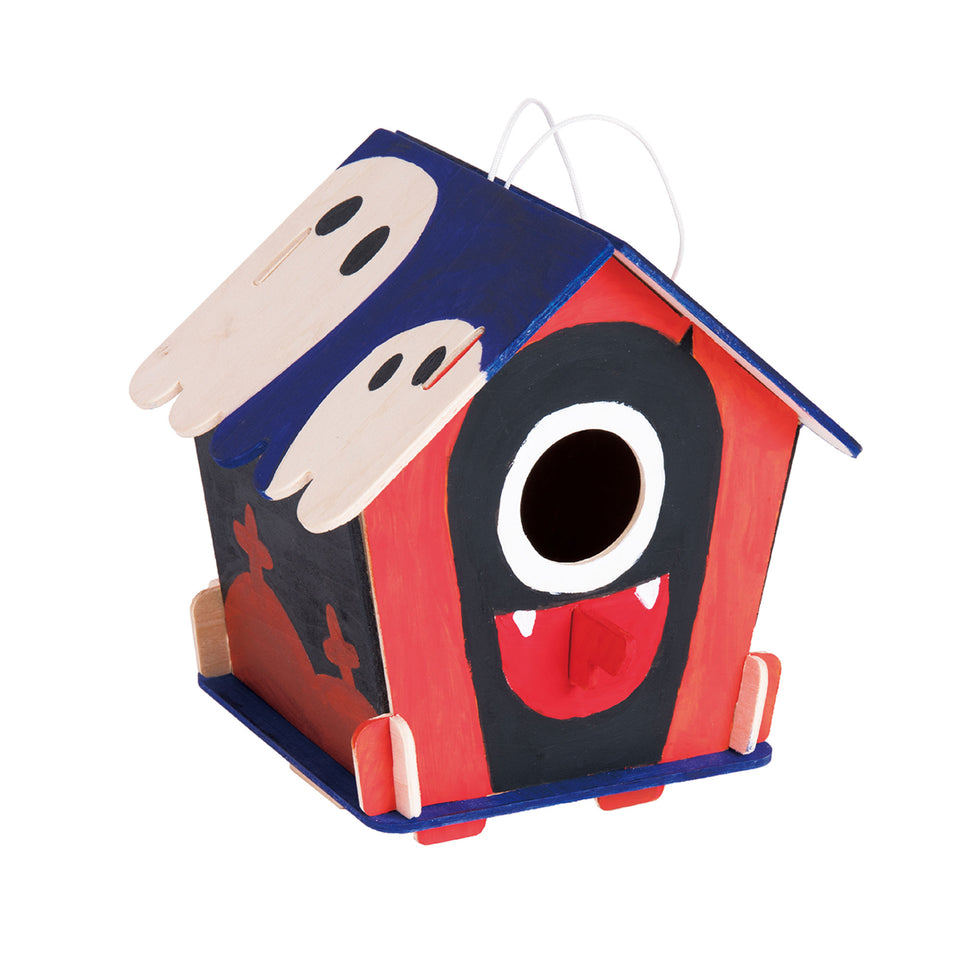 DIY Wooden Birdhouse with Paint Kit Style#199