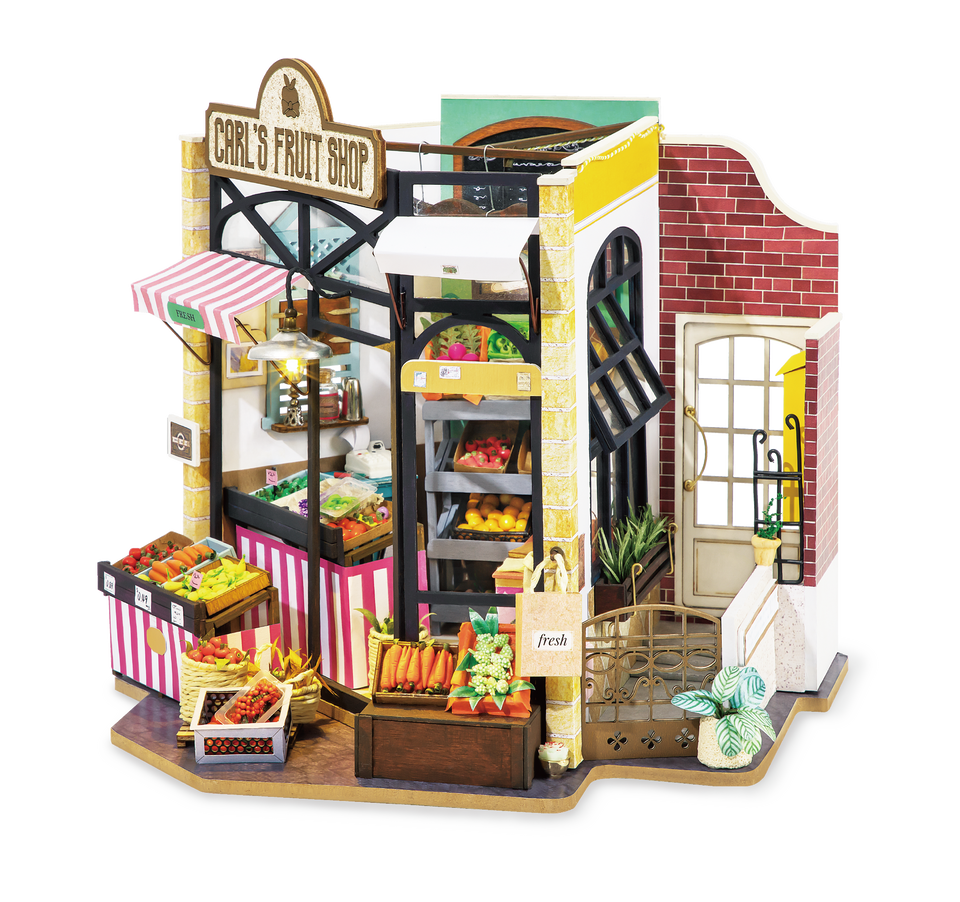DG142, DIY Miniature House: Carl's Fruit Shop