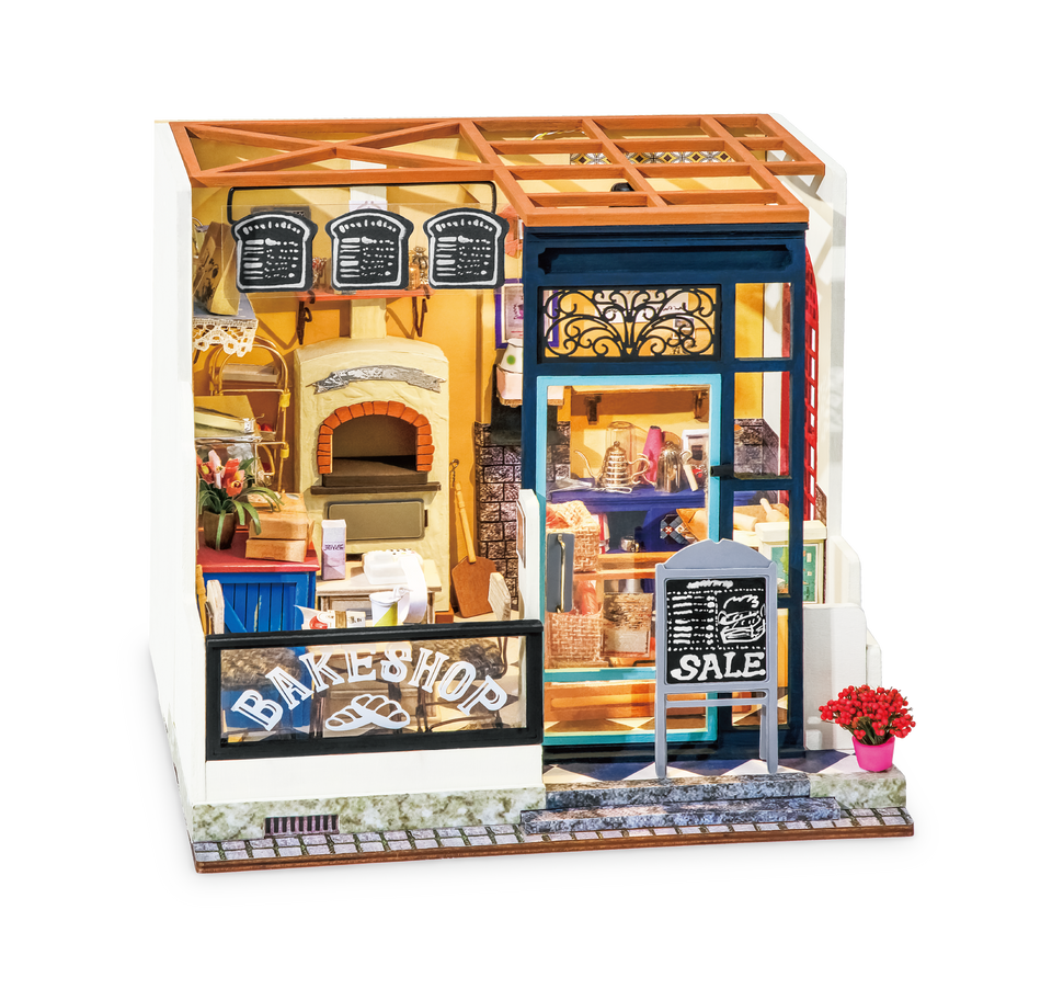 DG143, DIY Miniature: Nancy's Bake Shop