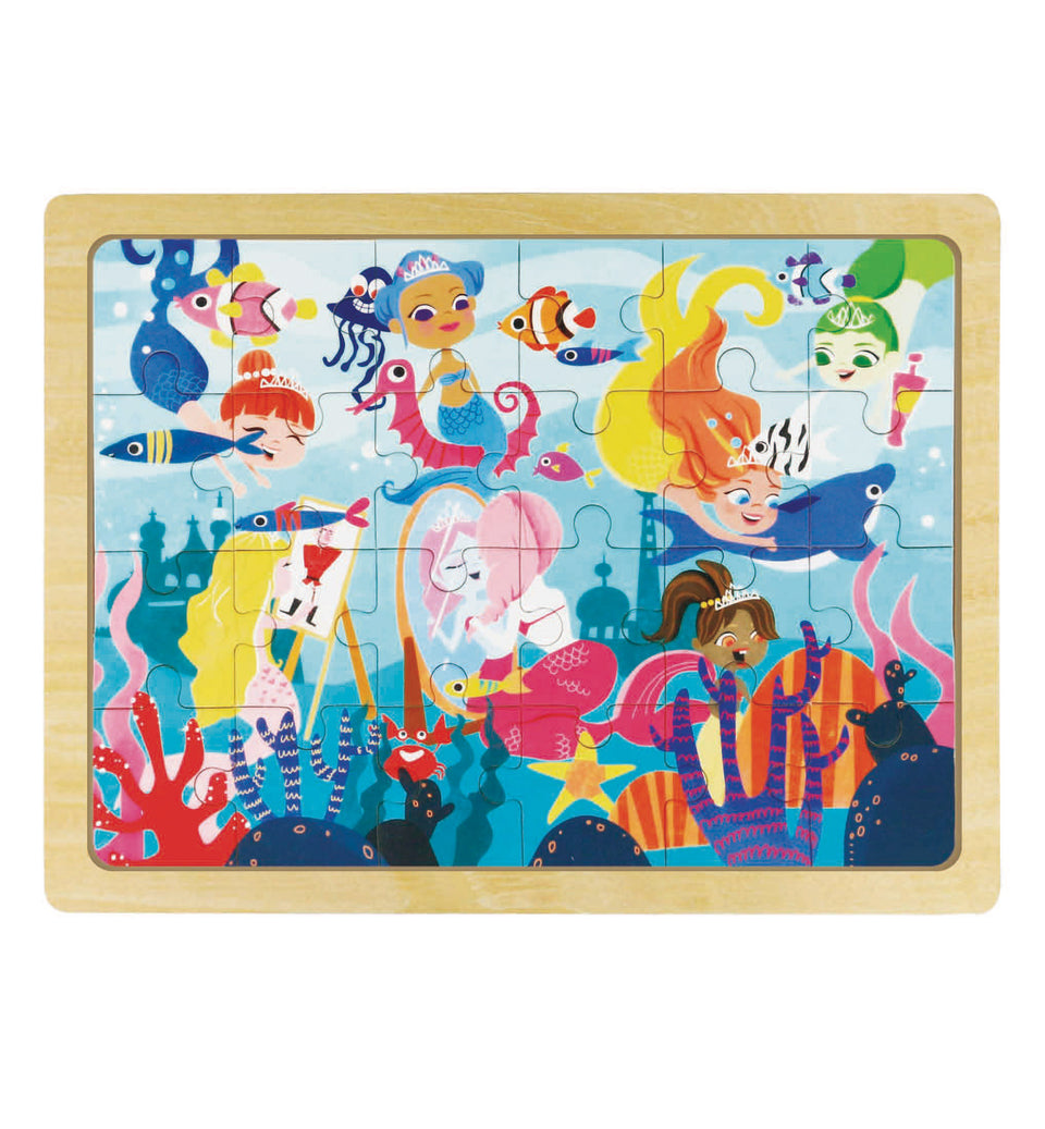 Hands Craft DY2403 Wooden Jigsaw Puzzle 24pc: Daughter of the Sea