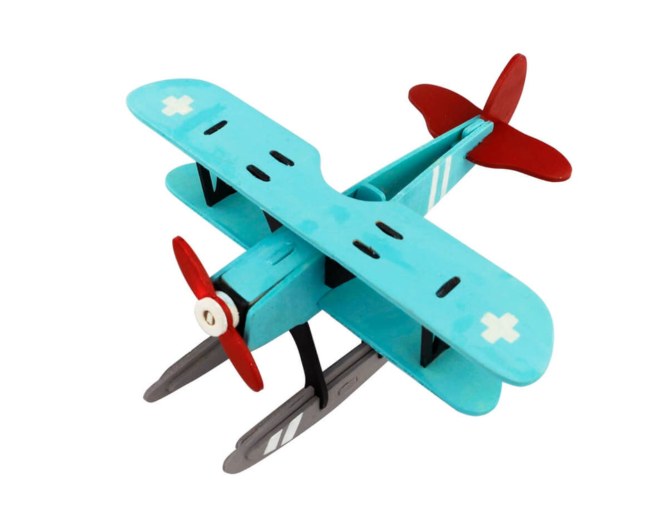 HC260 3D Wooden Puzzle Paint Kit: Hydroplane