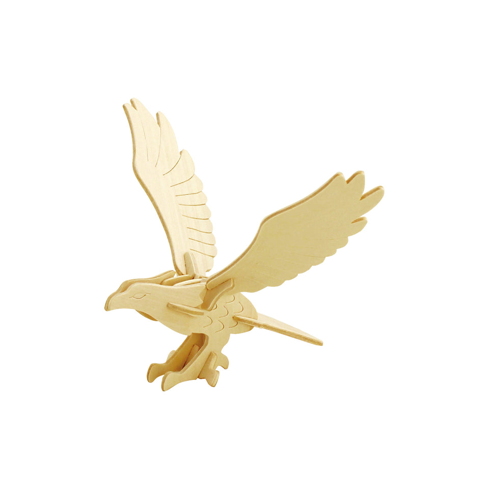 Hands Craft JP149 DIY 3D Wooden Puzzle: Eagle