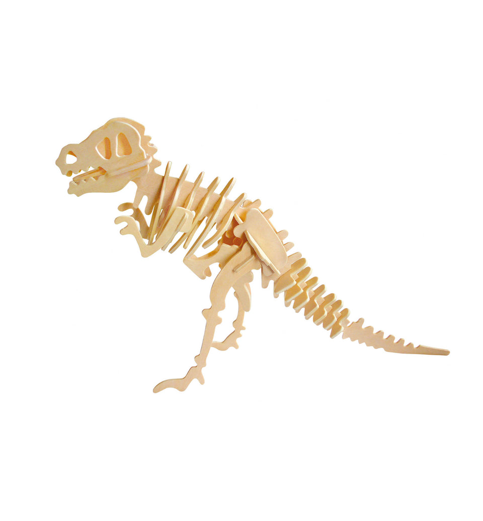 Hands Craft JP203 DIY 3D Wooden Puzzle: T-Rex