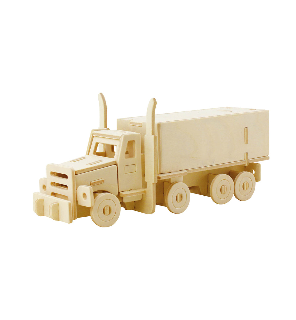 Hands Craft JP245 DIY 3D Wooden Puzzle: Truck