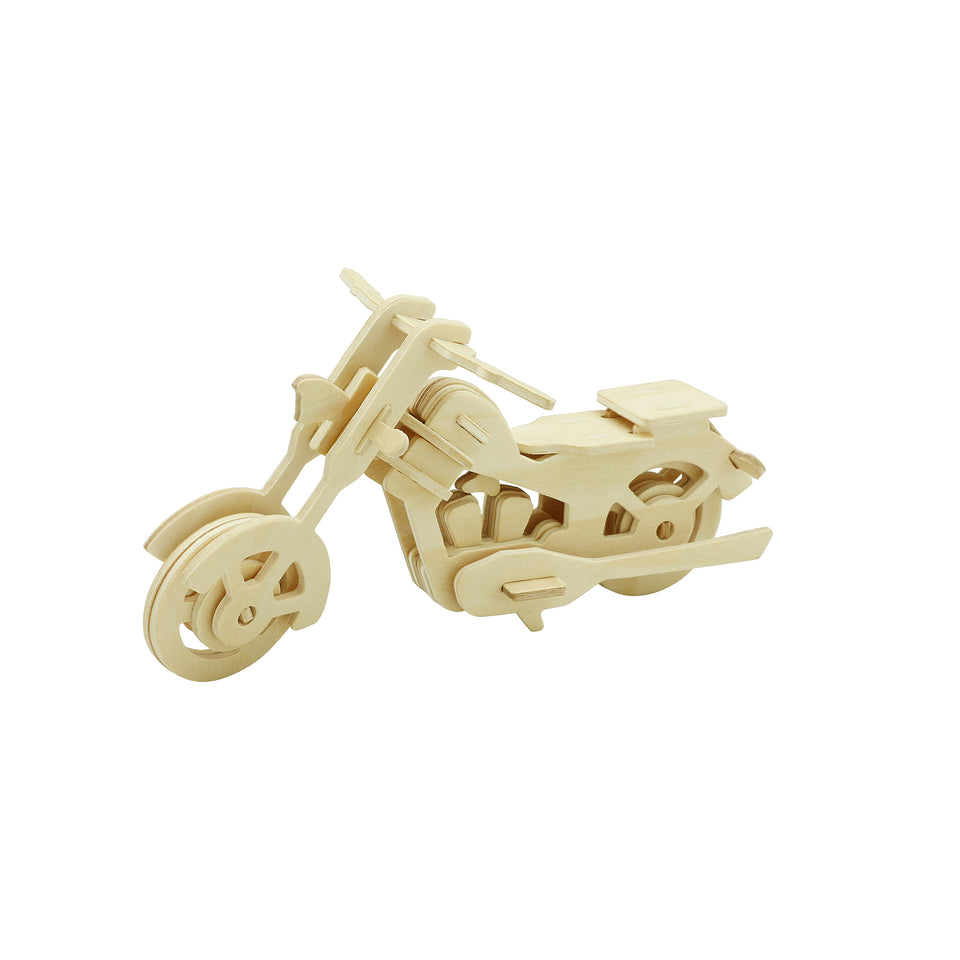 Hands Craft JP260 DIY 3D Wooden Puzzle: Motor Bike
