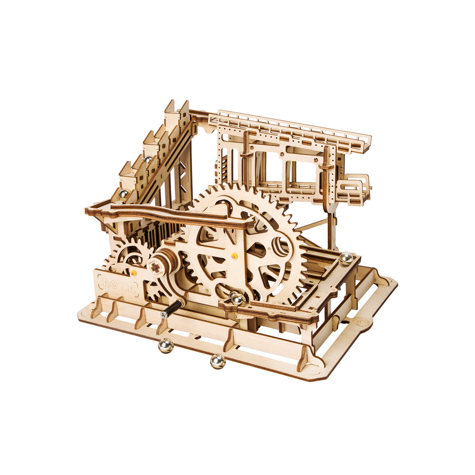 LG502 DIY Laser-Cut 3D Wooden COG Coaster Kit: Magic Crash