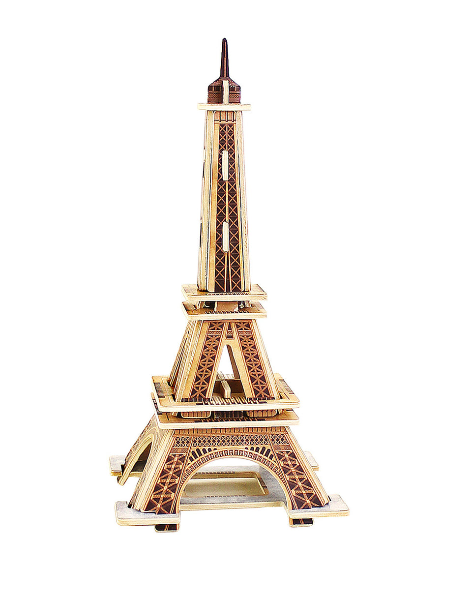 Hands Craft MJ201 DIY 3D Wooden Puzzle: EIFFEL TOWER