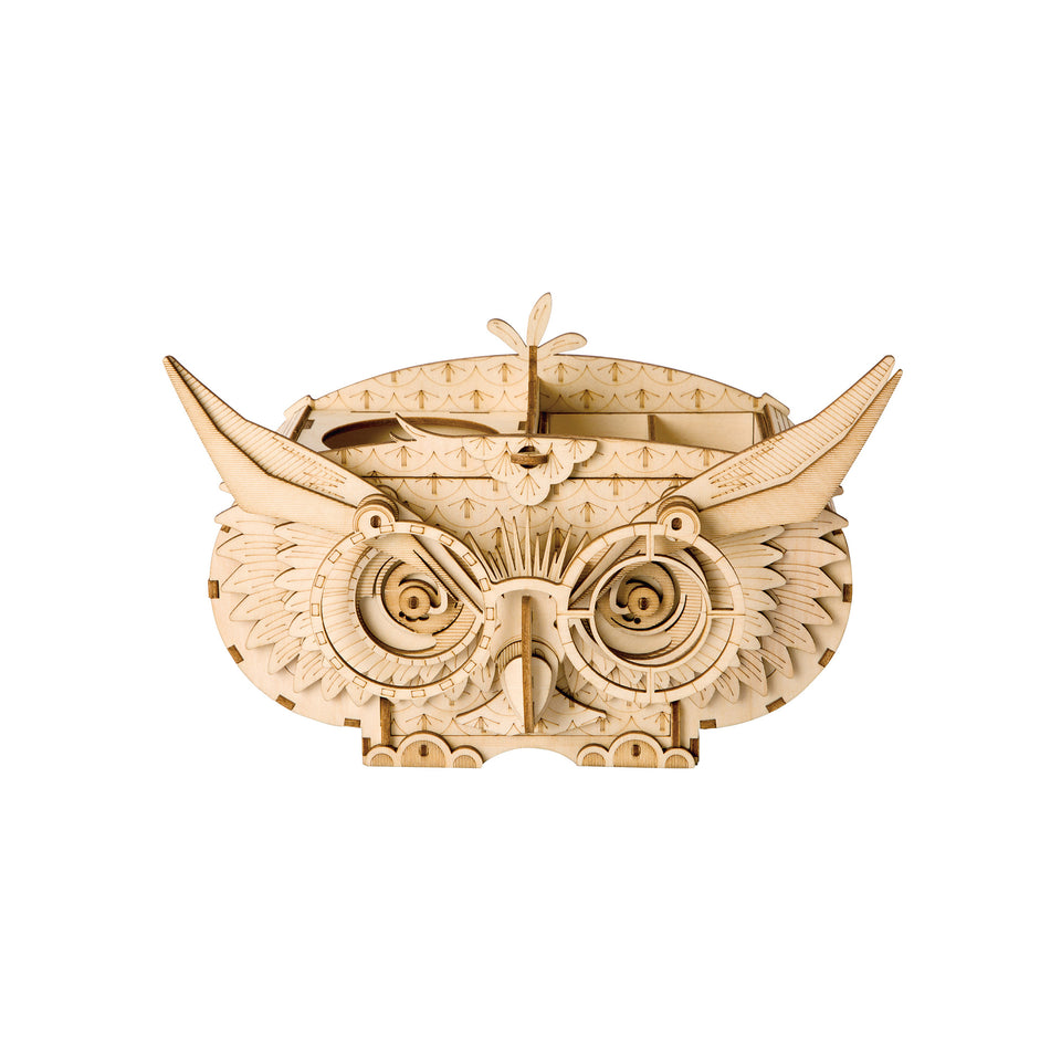 TG405 Modern Laser Cut: Owl Storage Box