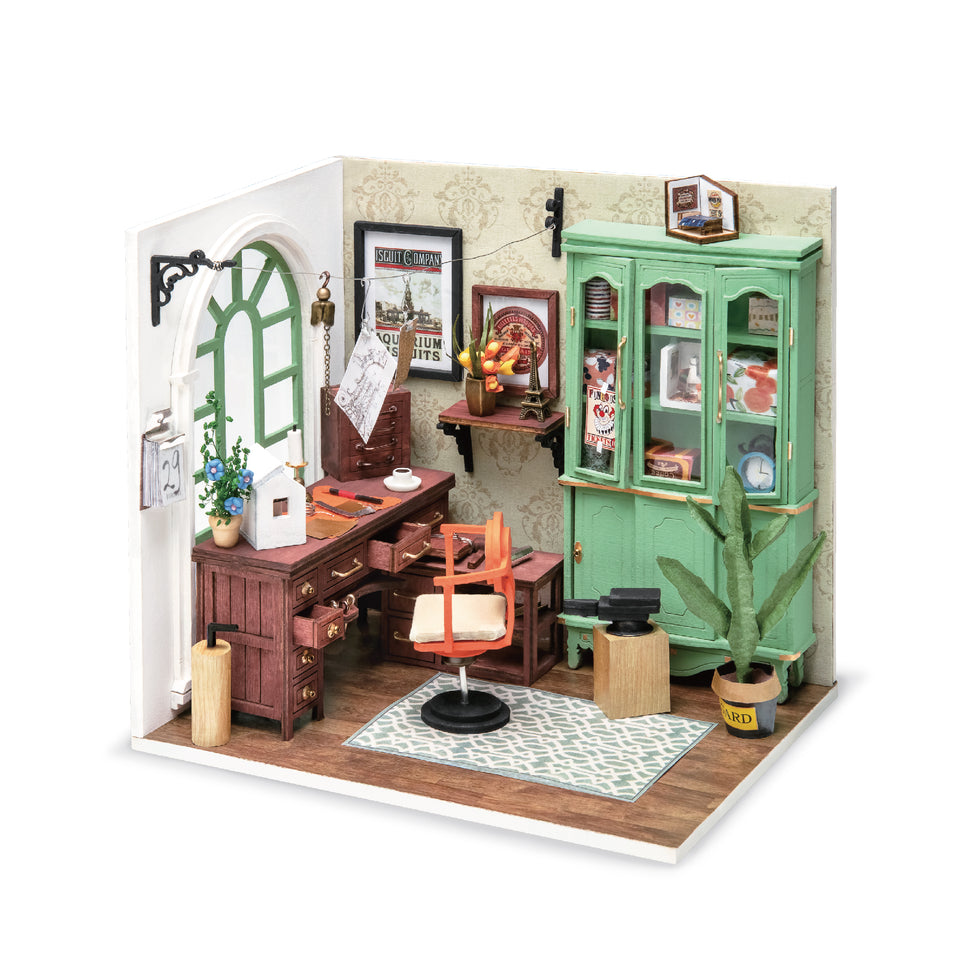 DIY 3D Craft Kit Wooden Puzzle | Dollhouse Miniature