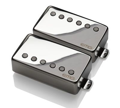 EMG 57/66 Pickups Set - Chrome