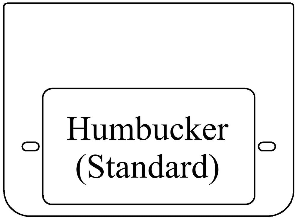 Half-Size Cartridge Humbucker Standard