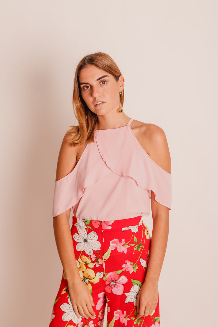 BLUSA OFF SHOULDER CRUZADA