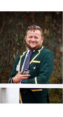 Stefan Paetow from Abingdon Rowing Club in Adé Lang Regatta Blazer HRR17