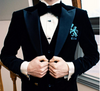 Ade Lang Regatta and Rowing Blazer - Liquid Velvet Smoking Jacket