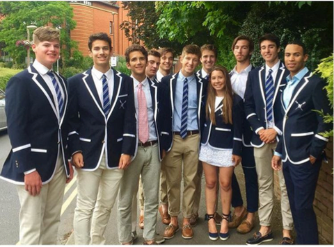 Montclair Rowing in Adé Lang Regatta Blazers HRR17