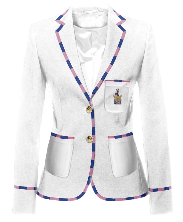Drexel University Women's Henley Rowing Blazer by Ade Lang