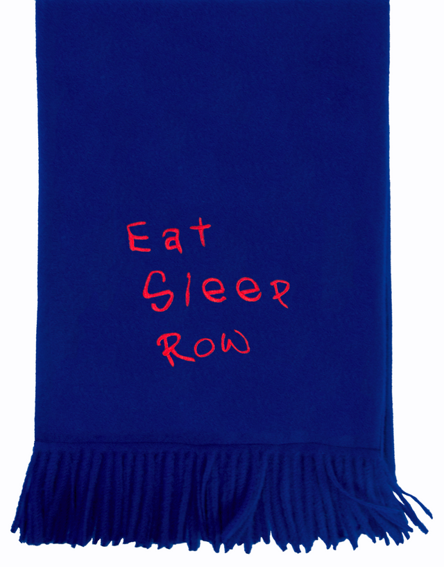 Adé Lang Eat Sleep Row Cashmere Scarf