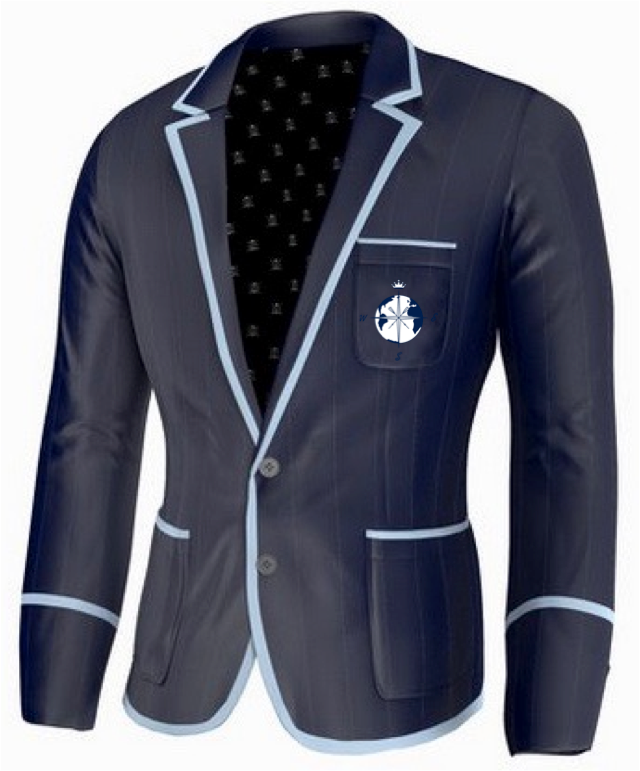 7 Seas Rowing Club Rowing Blazer by Ade Lang