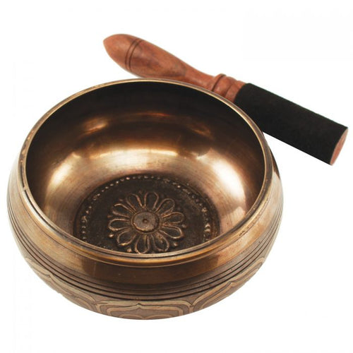 Singing Bowl: Large Lotus