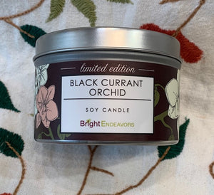 Candle: Black Currant Orchid