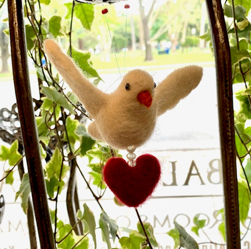 Peace Dove, Heart