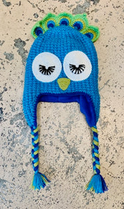 Adult Animal Hat: Peacock