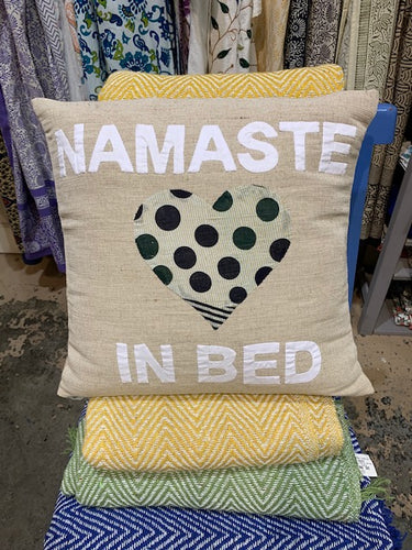 Pillow, Namaste In Bed