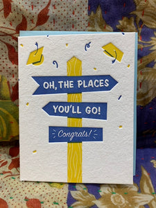 Card, Oh the Places You'll Go!