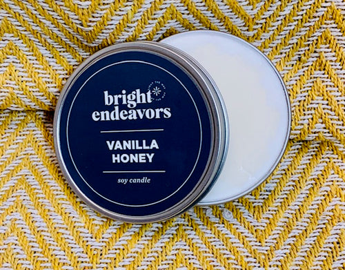 Candle: Vanilla & Honey
