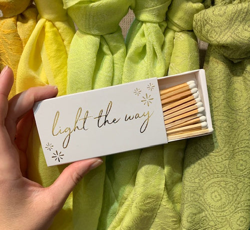 Light the Way Matches