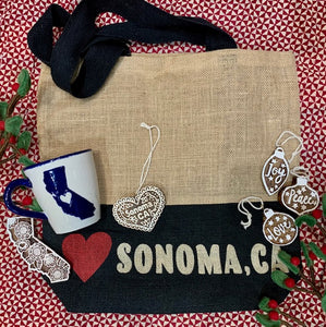 Holiday Grab Bag, Peace, Love and Sonoma!