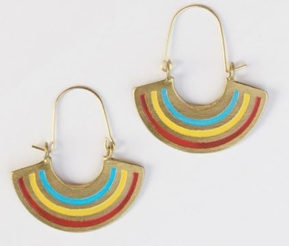 Earrings, Petite Rainbows
