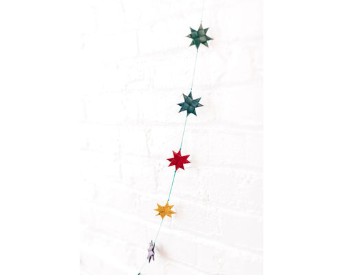 Garland, Palm Leaf Stars