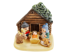 Nativity, Log Cabin