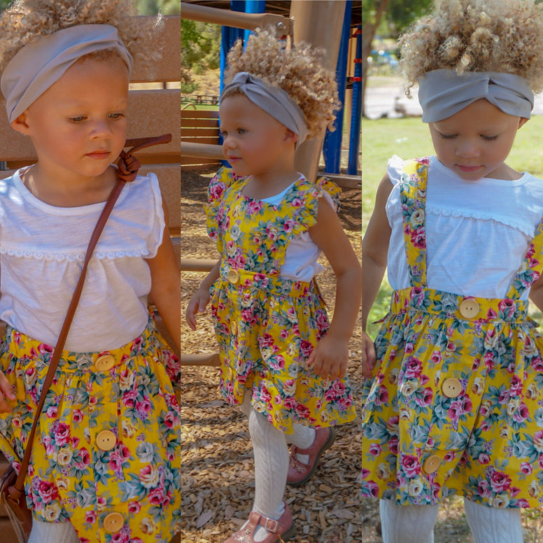 Perfect 3-in-1 Pinafore - Yellow