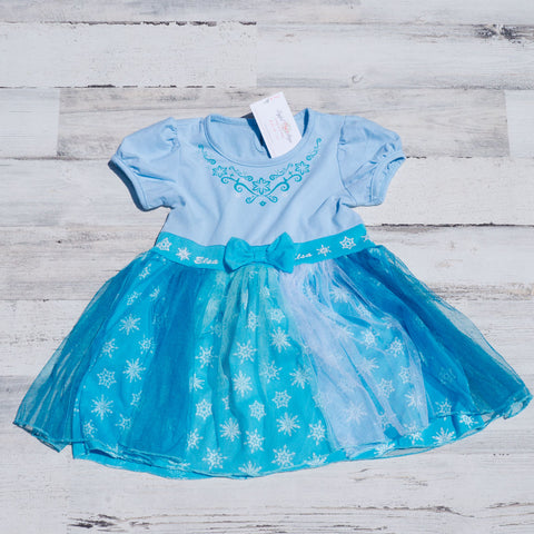 Elsa Frozen Inspired Dress