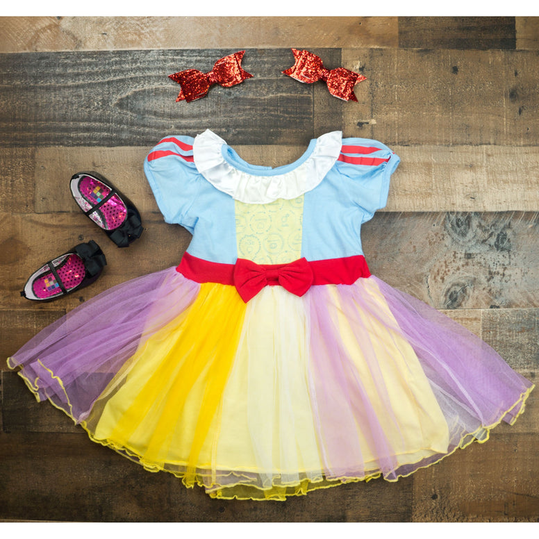 Snow White Inspired Dress