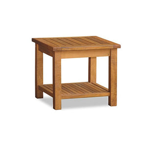 20″ Side table w/Rack