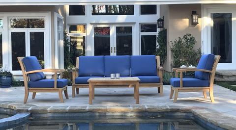 4-Piece Hampton Deep Seating Set