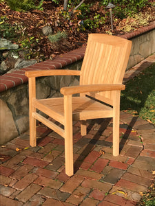 Marley Stacking Arm Chair