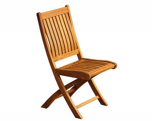 Kiffa Foldable Wide Slat Side Chair