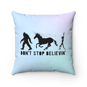 Don't Stop Believin' Pillow - STYLEFOX®