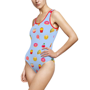 STYLEFOX® Hangry Women's One-Piece Swimsuit - STYLEFOX®