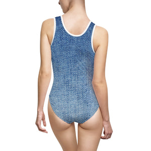 STYLEFOX® Denim Days One-Piece Swimsuit - STYLEFOX®