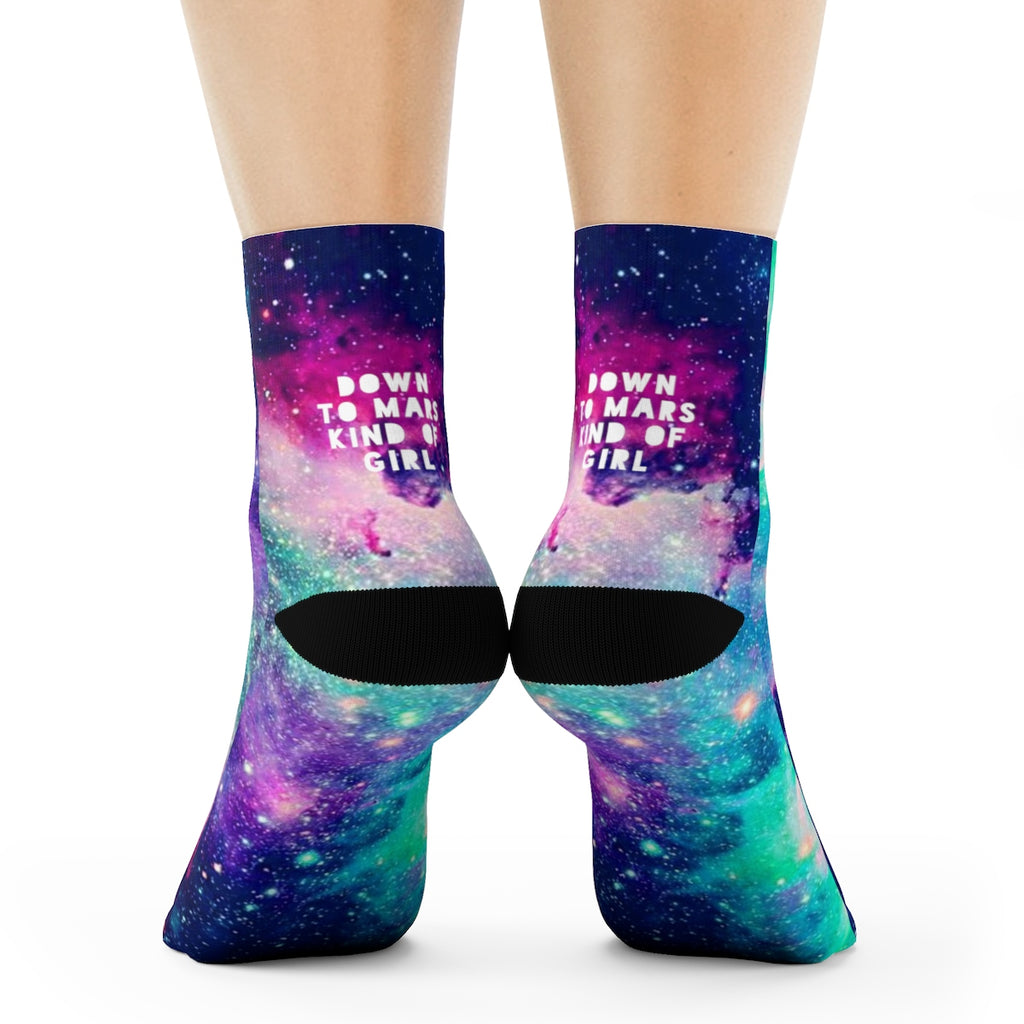 Down To Mars Kind Of Girl Socks - STYLEFOX®