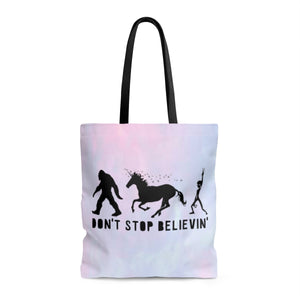 Don't Stop Believin' Ombre Tote - STYLEFOX®